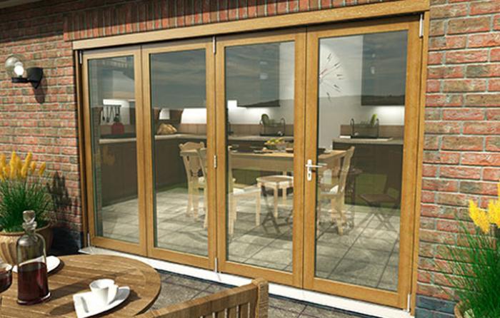 Exterior Bifold Patio Doors Image