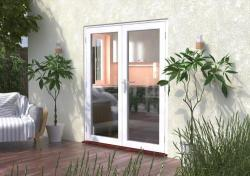 1800mm (6ft) Classic White French Doors:  Image