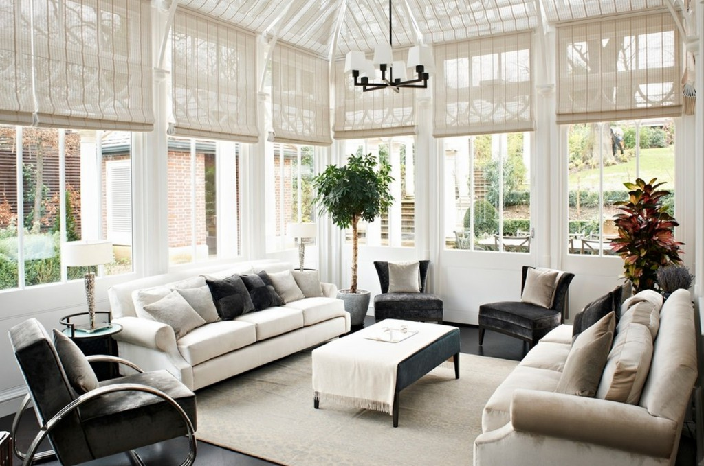 How to decorate your conservatory express doors direct for Conservatory interior designs