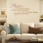 How to Affix a Wall Decal or Sticker