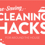 Cleaning Hacks Infographic