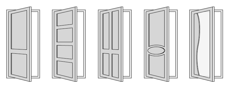 Explaining the different types of internal doors express for Different types of interior doors