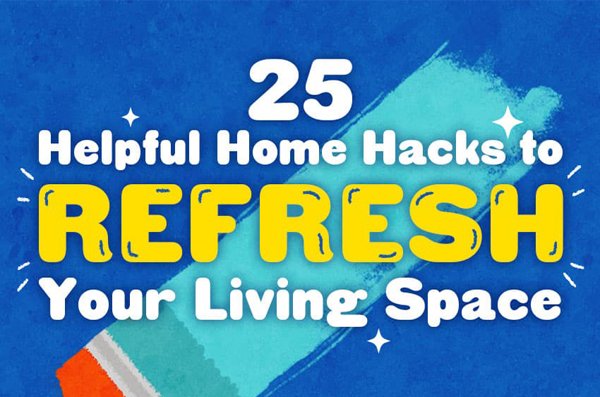 25 home hacks featured