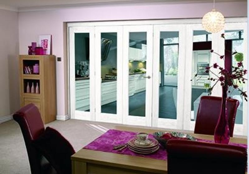 six panel bifold doors