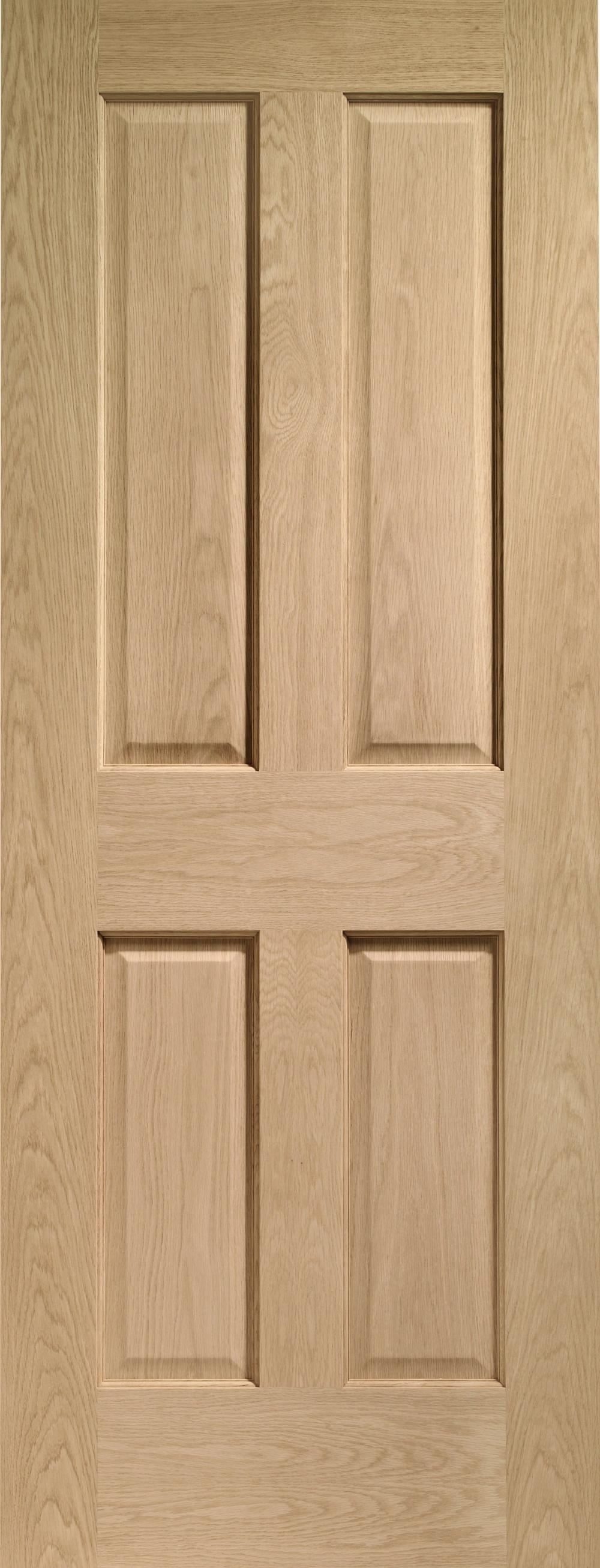 Victorian Oak 4 Panel Interior Door Express Doors