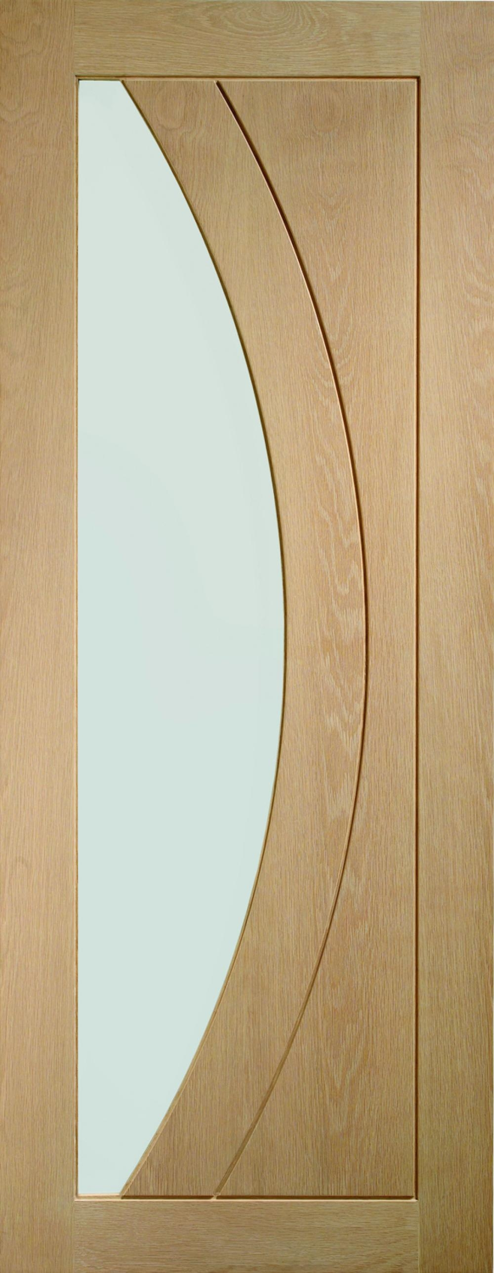 Salerno Oak - Clear Glass:  Image