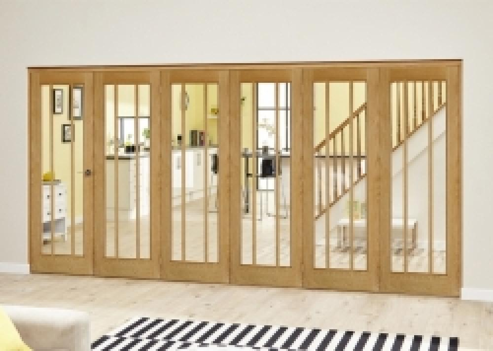 Lincoln Oak Roomfold Deluxe Interior Bifold Doors With