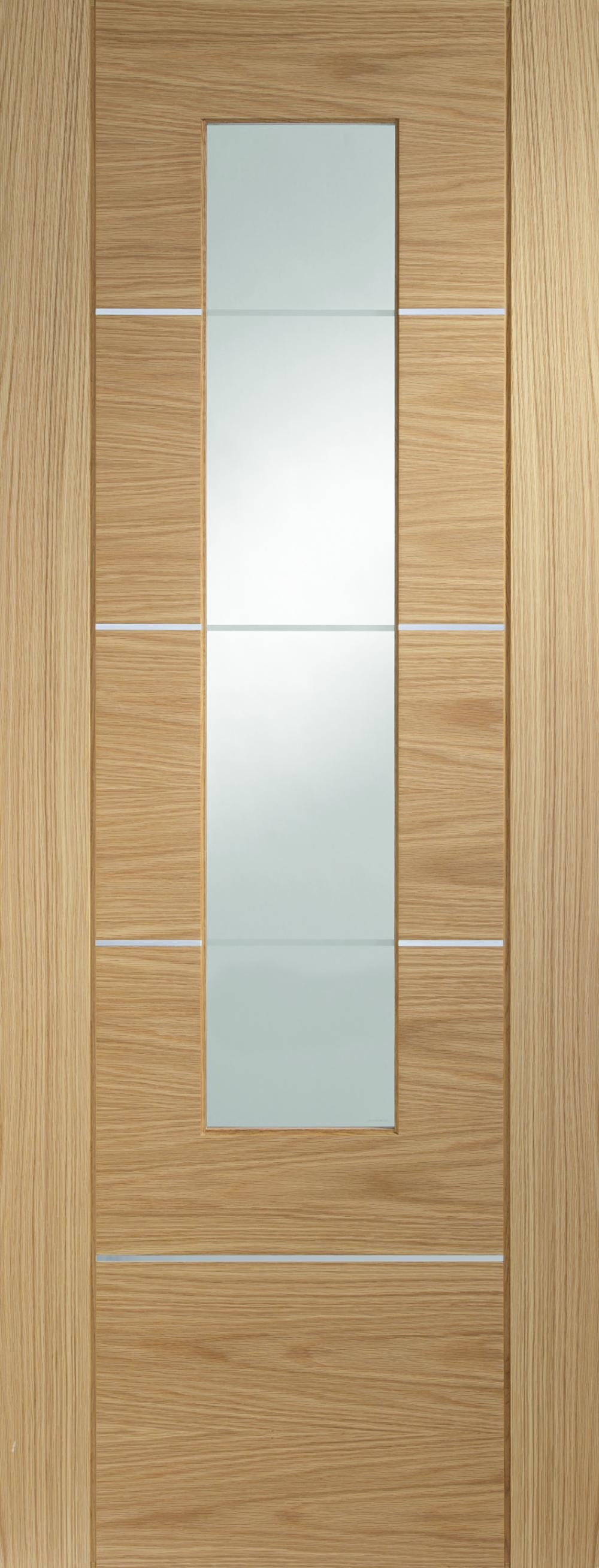 Portici Oak - PREFINISHED Clear Glass:  Image