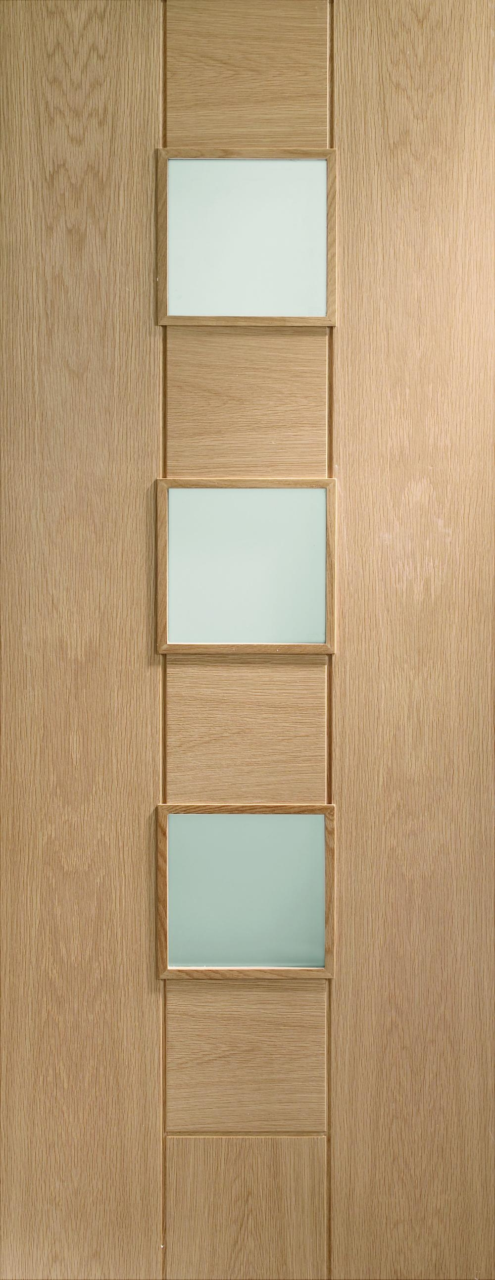 Messina Oak - PREFINISHED Clear Glass:  Image