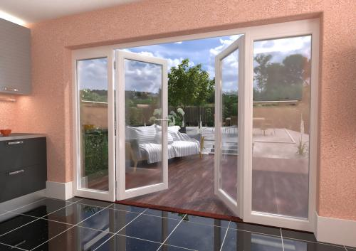 3000mm 10ft white french patio doors with sidelights for 1500mm patio doors