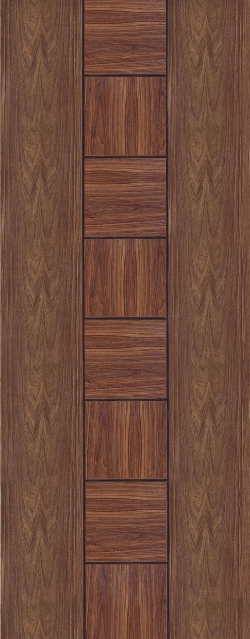 Messina Walnut Prefinished Interior Door Express Doors