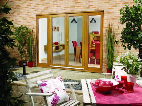 Lpd Nuvu Oak 2700mm 9ft Patio Doors With Sidelights At Express
