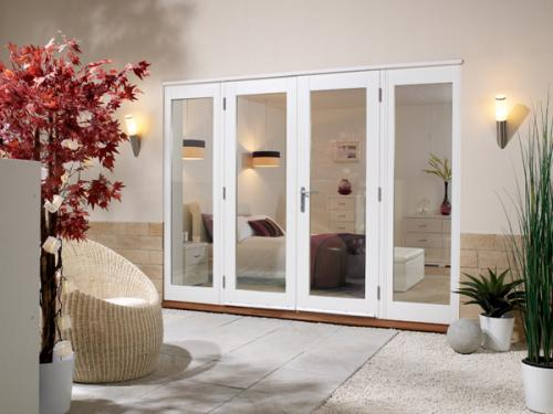 NUVU WHITE French Doors - Prefinished: 44mm Fully Finished Doorsets Image