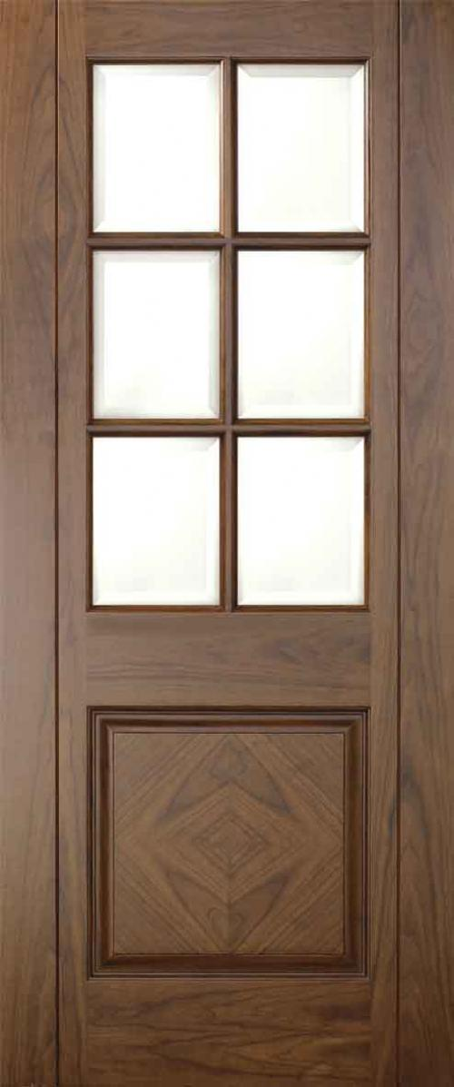 Barcelona Walnut - CLEAR BEVELLED PREFINISHED:  Image