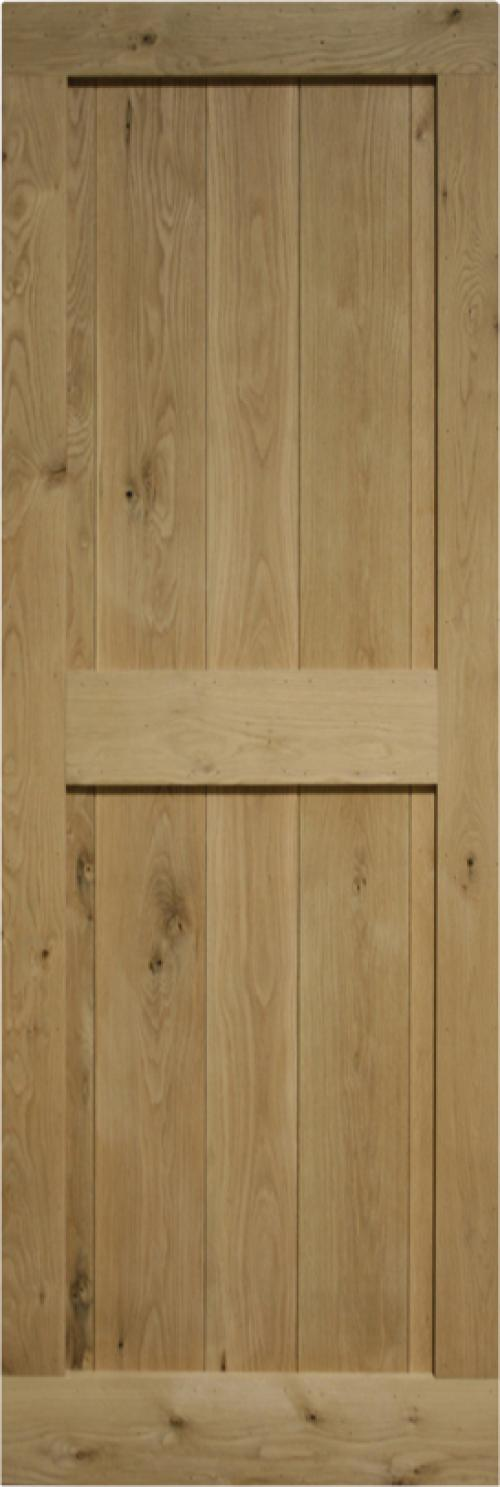 Solid Oak Framed & Ledged:  Image