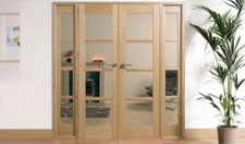 OAK OSLO W6: Internal Room divider with sidelight options Image