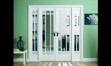 Manhattan W6 Interior French Door Set: Interior Room Divider with sidelight options Image