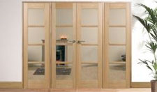 OAK OSLO W8: Internal Room divider with sidelight options Image