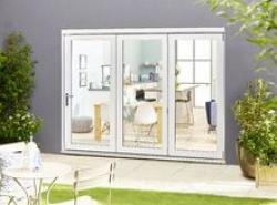 Climadoor SELECT 2700mm (9ft) Bifold Door: 54mm White primed finish External Doorset Image