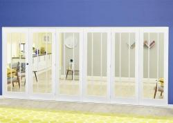 Lincoln White Roomfold Deluxe ( 5 + 1 x 610mm doors),  Image