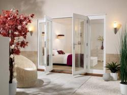 NUVU 2700mm (9ft) - 1500mm Patio Doors + 2 x 600mm Sidelights ,  Image