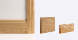 Traditional Skirting Board 147mm x 16mm x 3600mm: Solid FSC certified MDF core Image