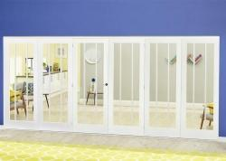 Lincoln White Roomfold Deluxe ( 3 + 3 x 686mm doors),  Image