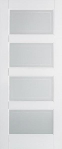 Contemporary 4L Glazed White:  Image