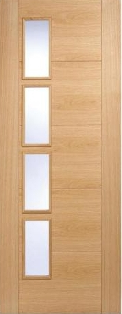 Vancouver 4L offset Oak - CLEAR PREFINISHED:  Image
