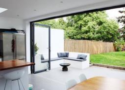 Choosing Your Exterior Bi Folding Door MaterialsExternal Bifold Patio Doors  Oak  Aluminium   More From Express  . Exterior Bi Folding Doors. Home Design Ideas
