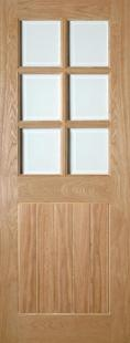 Ely Glazed Oak - PREFINISHED:  Image
