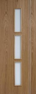 Sierra OAK Glazed Door:  Image