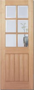 Mexicano Oak 6L Glazed:  Image