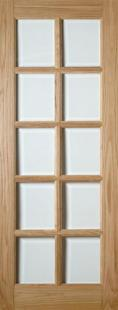 Bristol 10 Light Glazed Oak:  Image