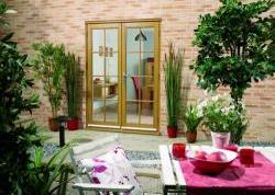 OAK French Doors - NUVU 8 Lite: 44mm Fully Finished Doorsets Image
