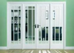 Manhattan Interior French Door Range: Interior Room Divider with sidelight options Image
