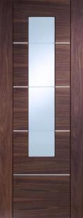 Portici Walnut - PREFINISHED Clear glazed:  Image