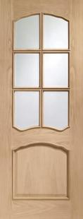 XL Riviera Glazed Prefinished - Raised Mouldings:  Image