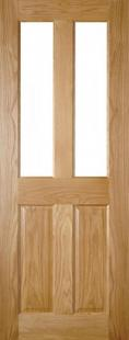 Bury Oak Glazed - PREFINISHED:  Image