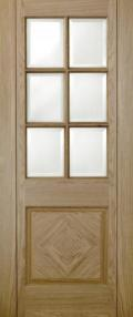 Barcelona Oak - CLEAR BEVELLED PREFINISHED:  Image